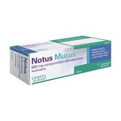 NOTUS MUCUS 600 MG 20 COMPRIMIDOS EFERVESCENTES