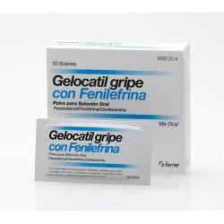 GELOCATIL GRIPE FORTE FENILEFRINA 10 SOB