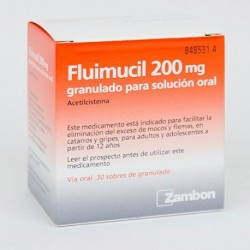 FLUIMUCIL(FLUMIL) 200 MG 30 SOB