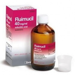 FLUMIL 4% 40MG/ML SOL ORAL 200 ML