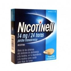 NICOTINELL 14 MG 24HORAS 14PARCHES