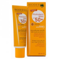PHOTODERM MAX SPF50+ AQUAFLUIDO BIODERMA 40 ML