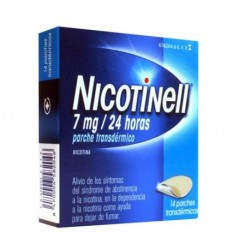 NICOTINELL 07 MG 24HORAS 14PARCHES