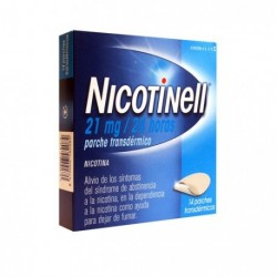 NICOTINELL 21 MG 24HORAS 14PARCHES