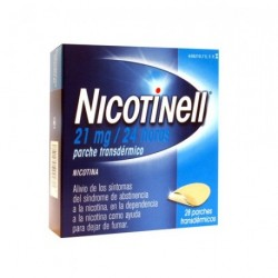 NICOTINELL 21 MG 24HORAS 28PARCHES