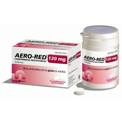 AERO RED 120 MG 40 COMP MAST