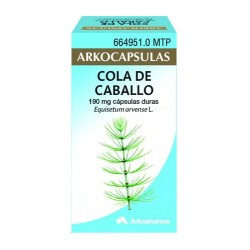 ARKOCAPSULAS COLA CABALLO 190MG 50CAPS