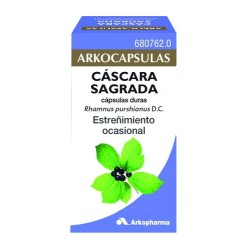 ARKOCAPSULAS CASCARA SAGRADA 50 CAPS