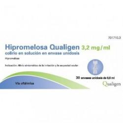 HIPROMELOSA QUALIGEN 3,2 MG/ML COLIRIO 30 MONO SOL 0.5 ML