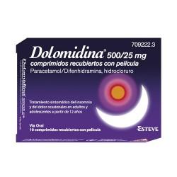 DOLOMIDINA 500/25MG 10 COMP