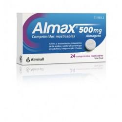 ALMAX 500 MG 24 COMP