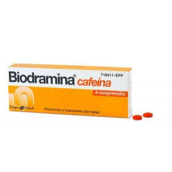 BIODRAMINA CAFEINA 4 COMP
